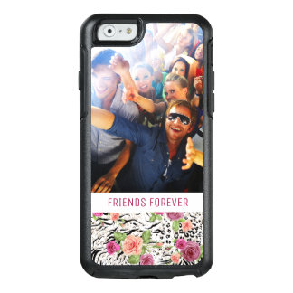 Pattern With Animal Prints | Add Your Photo & Text OtterBox iPhone 6/6s Case