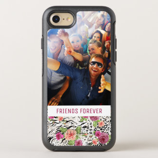 Pattern With Animal Prints | Add Your Photo & Text OtterBox Symmetry iPhone 7 Case