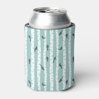 Pattern with birds and trees can cooler