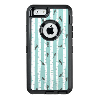 Pattern with birds and trees OtterBox iPhone 6/6s case