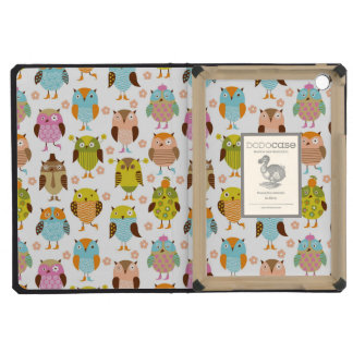 pattern with birds iPad mini retina case