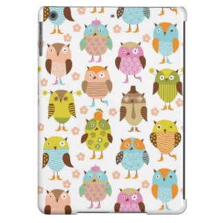 pattern with birds cover for iPad air