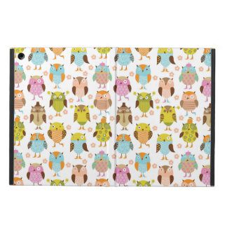 pattern with birds iPad air case