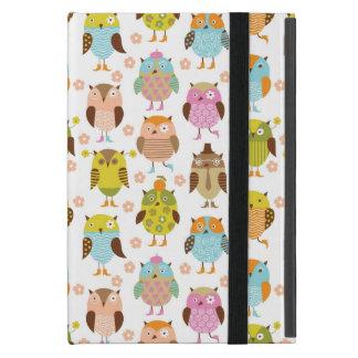 pattern with birds iPad mini covers