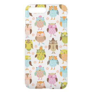 pattern with birds iPhone 8 plus/7 plus case