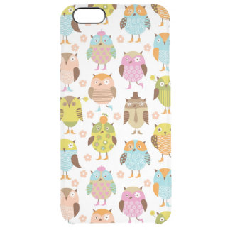 pattern with birds uncommon clearly™ deflector iPhone 6 plus case