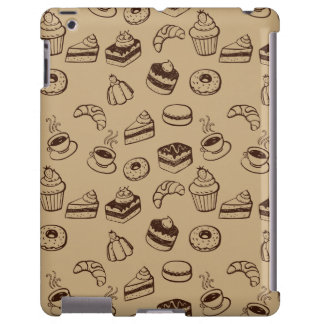 Pattern With Cakes, Desserts And Bakery