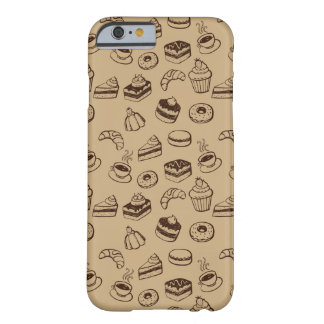 Pattern With Cakes, Desserts And Bakery Barely There iPhone 6 Case