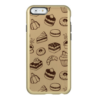 Pattern With Cakes, Desserts And Bakery Incipio Feather® Shine iPhone 6 Case