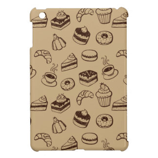 Pattern With Cakes, Desserts And Bakery iPad Mini Case