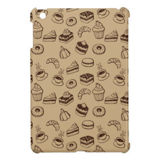 Pattern With Cakes, Desserts And Bakery iPad Mini Cover