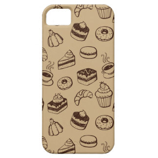 Pattern With Cakes, Desserts And Bakery iPhone SE/5/5s Case