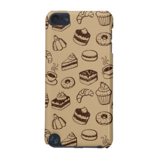 Pattern With Cakes, Desserts And Bakery iPod Touch 5G Covers