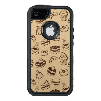 Pattern With Cakes, Desserts And Bakery OtterBox iPhone 5/5s/SE Case
