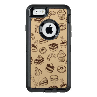 Pattern With Cakes, Desserts And Bakery OtterBox iPhone 6/6s Case