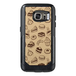 Pattern With Cakes, Desserts And Bakery OtterBox Samsung Galaxy S7 Case