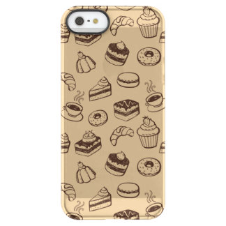 Pattern With Cakes, Desserts And Bakery Permafrost® iPhone SE/5/5s Case