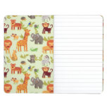 Pattern With Cartoon Animals Journal
