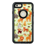 Pattern With Cartoon Animals OtterBox iPhone 6/6s Plus Case