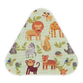 Pattern With Cartoon Animals Speaker