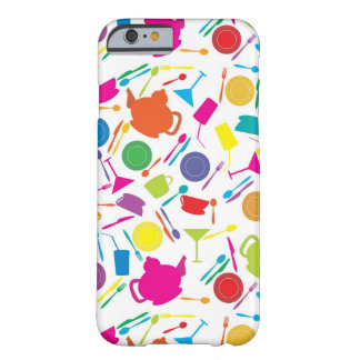Pattern With Colored Kitchen Stuff Barely There iPhone 6 Case