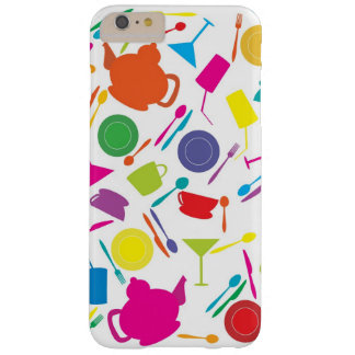 Pattern With Colored Kitchen Stuff Barely There iPhone 6 Plus Case