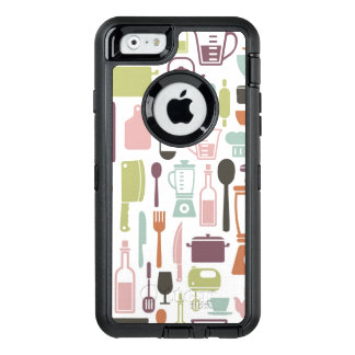 Pattern with colorful cooking icons OtterBox iPhone 6/6s case