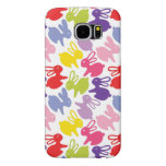 pattern with Easter rabbits Samsung Galaxy S6 Cases