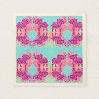pattern with elephants Napkin