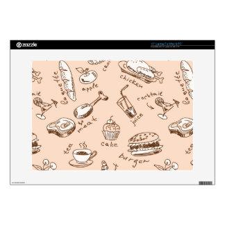 Pattern With Food Laptop Skin