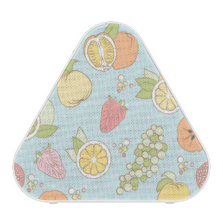 Pattern With Fruits And Berries Speaker