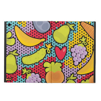 Pattern with fruits and vegetables case for iPad air