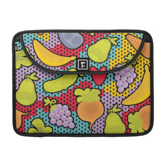 Pattern with fruits and vegetables sleeve for MacBooks