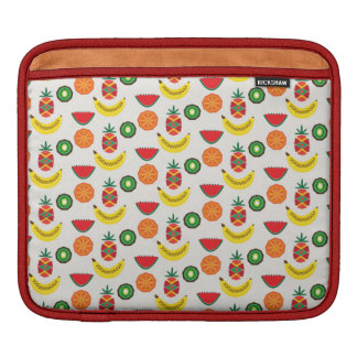 pattern with fruits sleeves for iPads