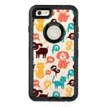 Pattern With Funny Cats And Dogs OtterBox iPhone 6/6s Plus Case