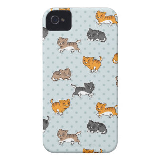 pattern with funny cats Case-Mate iPhone 4 case
