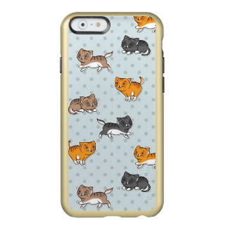 pattern with funny cats incipio feather shine iPhone 6 case