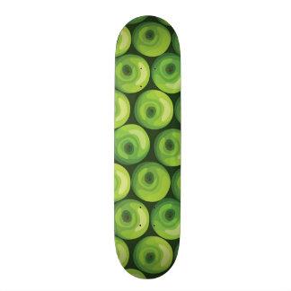 Pattern with Green Apples Custom Skateboard