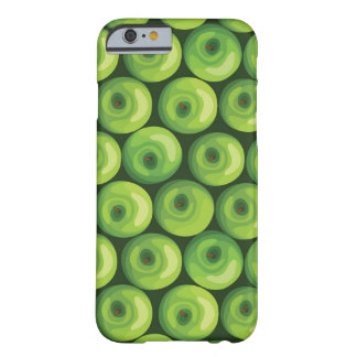 Pattern with Green Apples iPhone 6 Case