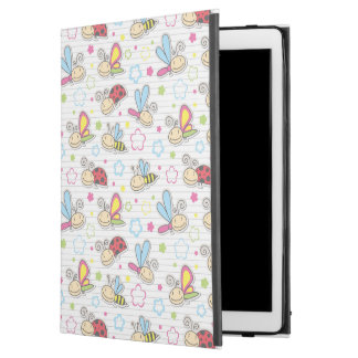 """pattern with insects iPad pro 12.9"""" case"""