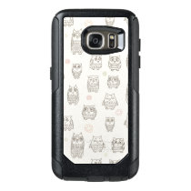 Pattern with owls OtterBox samsung galaxy s7 case