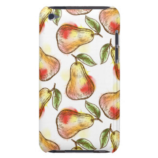 Pattern with pear barely there iPod case