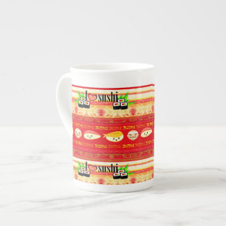 pattern with sushi Specialty Mug