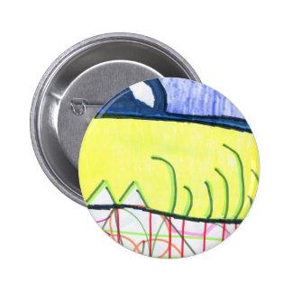 Pattern World Pinback Buttons