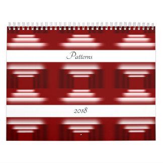 Pattern World Calendar