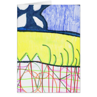 Pattern World Greeting Card