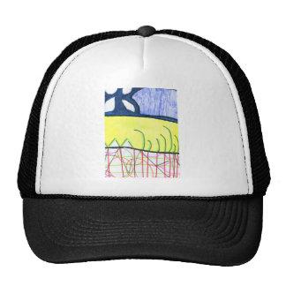 Pattern World Mesh Hat