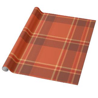 Pattern Wrapping Paper Tartan Check Plaid