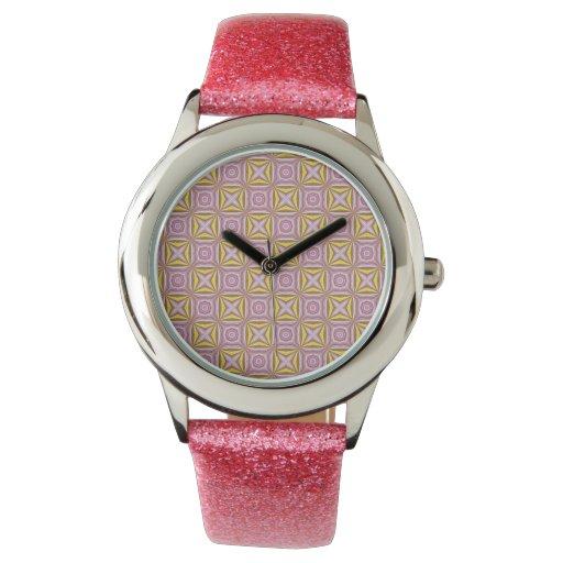 pattern wristwatches