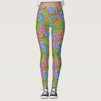 Pattern Your Style Pop Fashion Leggings